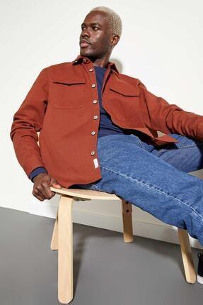 DeFacto Regular Fit Uzun Kollu Cepli Pamuklu Gömlek Ceket