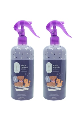 Gallipoli Lavender Lavanta Yağlı Pet Antiseptik Kedi Köpek Koku Giderici 400 ml 2 Adet