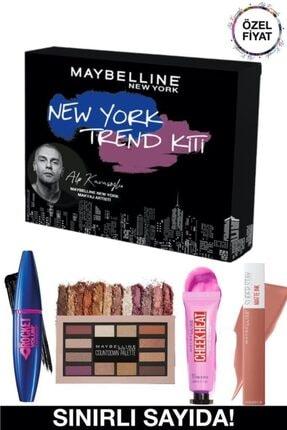 Maybelline New York Alp Kavasoğlu New York Trend Kiti + 3 Aylık Blu Tv Üyeliği Hediye