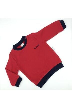 Pierre Cardin Unisex Iki Iplik Kırmızı Sweatshirt