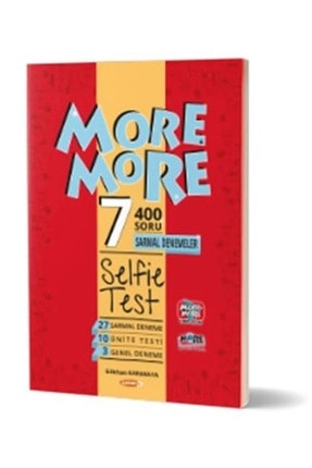 Kurmay Yayınları More & More 7.sınıf Englısh Selfıe Test (Ünite Denemeleri)