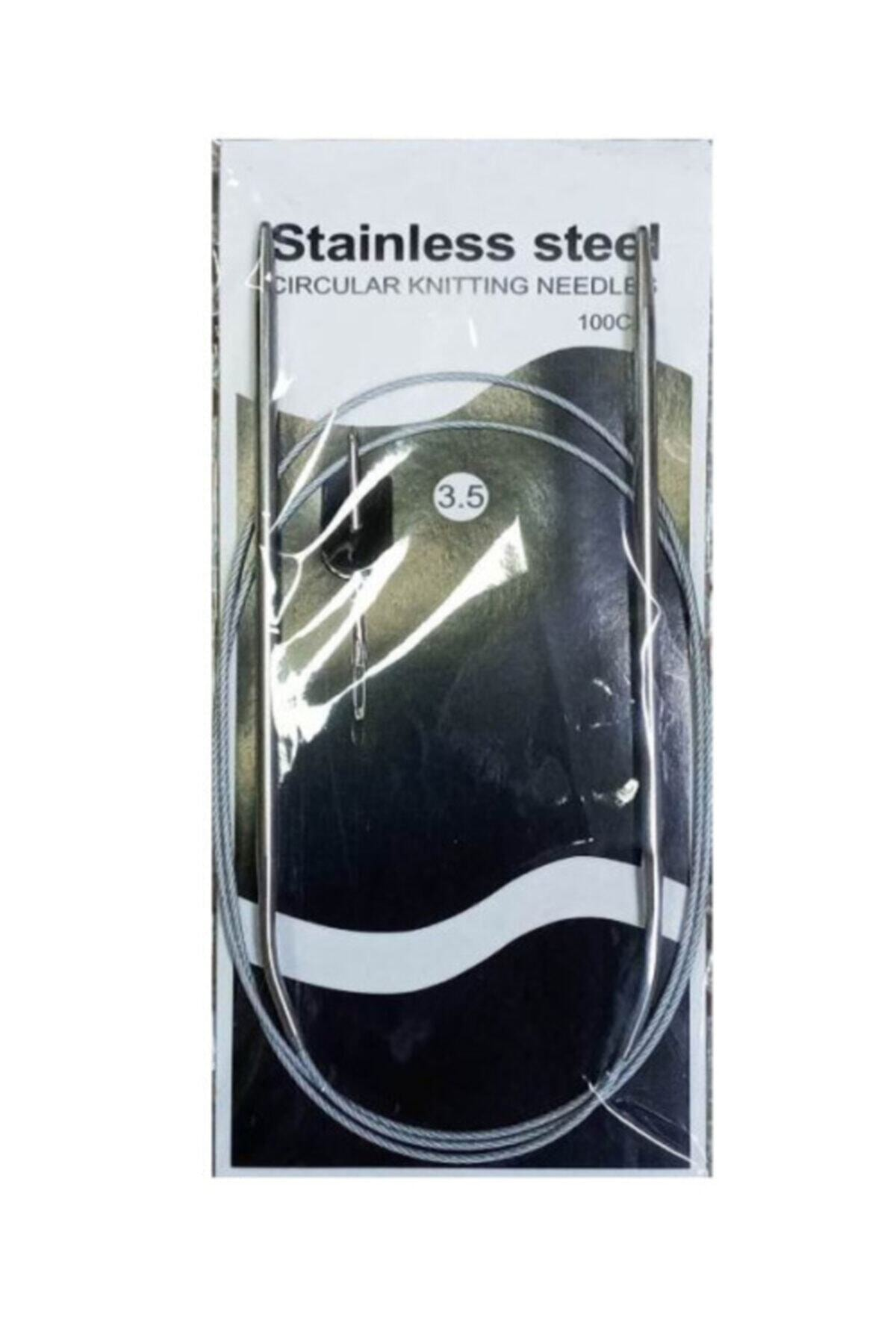 Staınless Paslanmaz Çelik No 3,5 100cm Misinalı Şiş 1