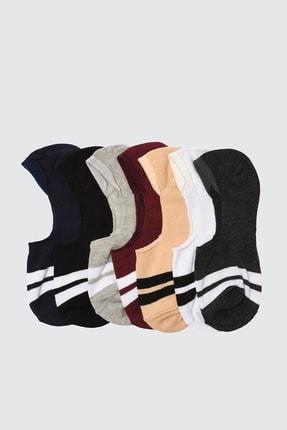 TRENDYOL MAN Çok Renkli Erkek 7'li Paket Suba Çorap TMNSS20CO0008