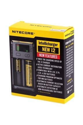 Nitecore Intellicharger New I2 Li-ion Şarj Cihazı