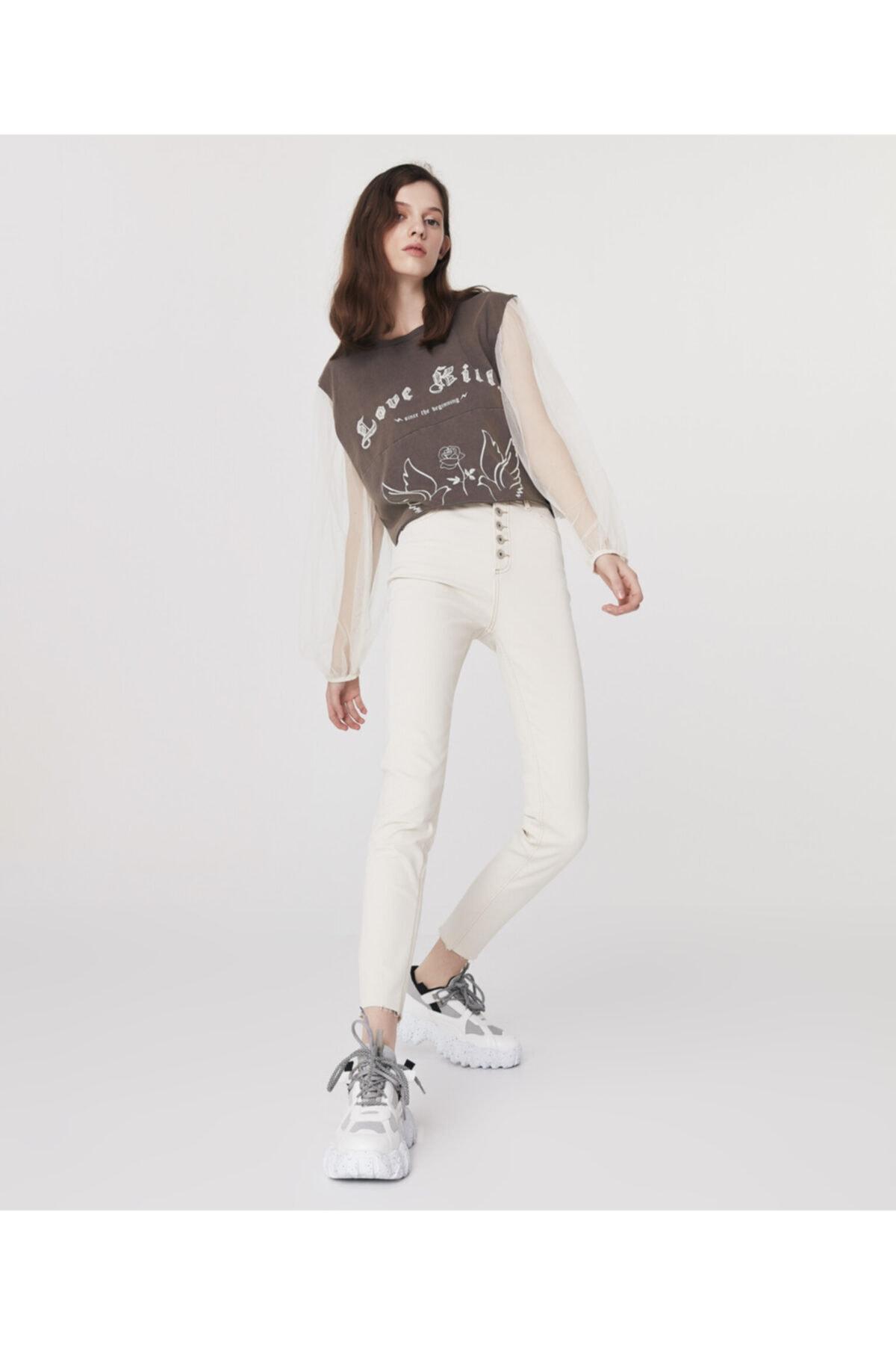 Twist High Rise Skinny Fit Jean Pantolon 1
