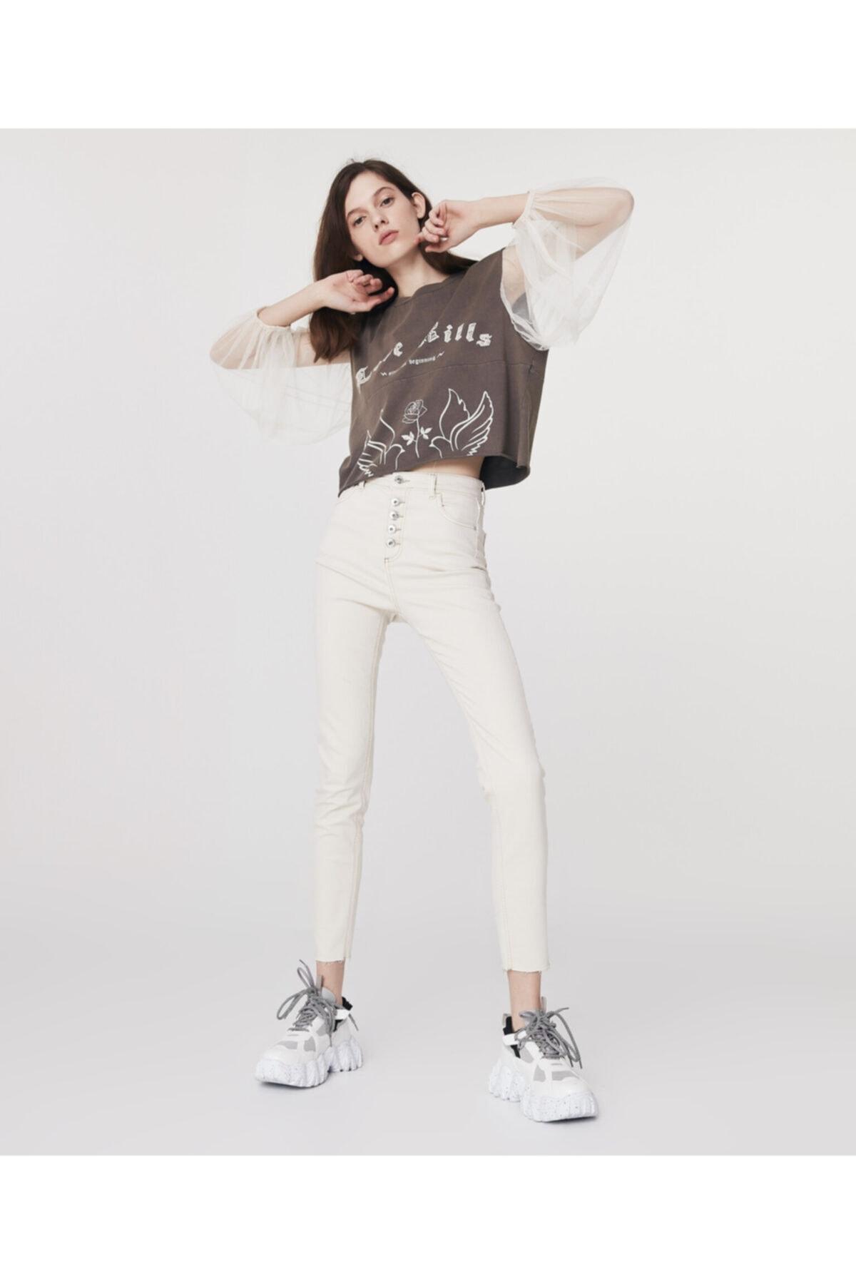 Twist High Rise Skinny Fit Jean Pantolon 2