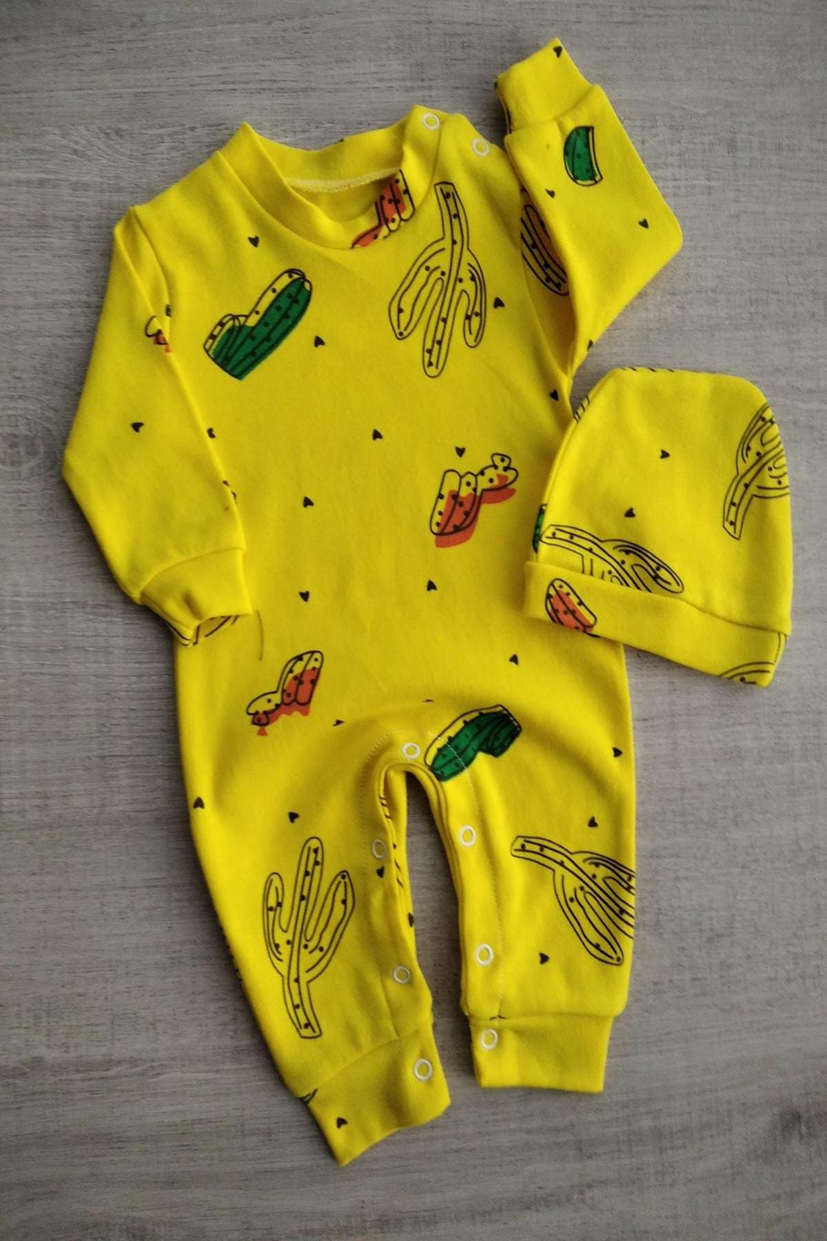 Bebek Exclusive Kaktüslü Bereli Bebek Tulum 1