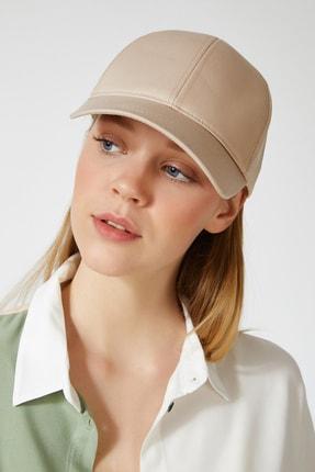 Happiness İst. Kadın Krem Unisex Baseball Cap Şapka PD00017