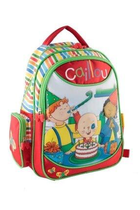 Caillou Kırmızı Caillou İlkokul Çantası KYÇAN0865