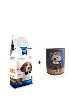 Paw Paw Kuzu Etli Pirinçli Yavru Köpek Maması 3kg + Patimax Kuzu Etli Yavru Köpek Konservesi