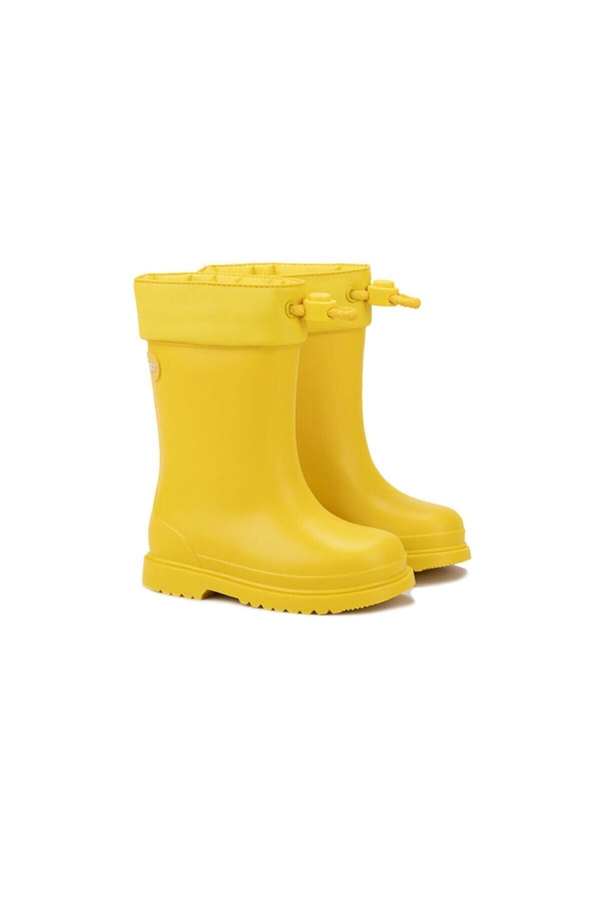 IGOR W10100 Chufo Cuello-008 Sarı Unisex Çocuk Yağmur Çizmesi 100386307 2