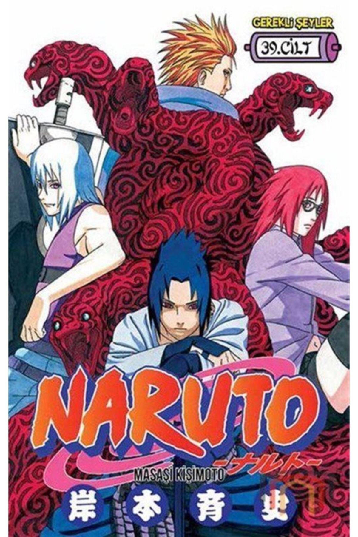 Gerekli Şeyler Yayıncılık Naruto 39. Cilt 1