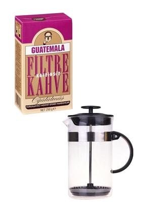 Taşev Bambum Clark French Press 350 Ml Kahve Seti