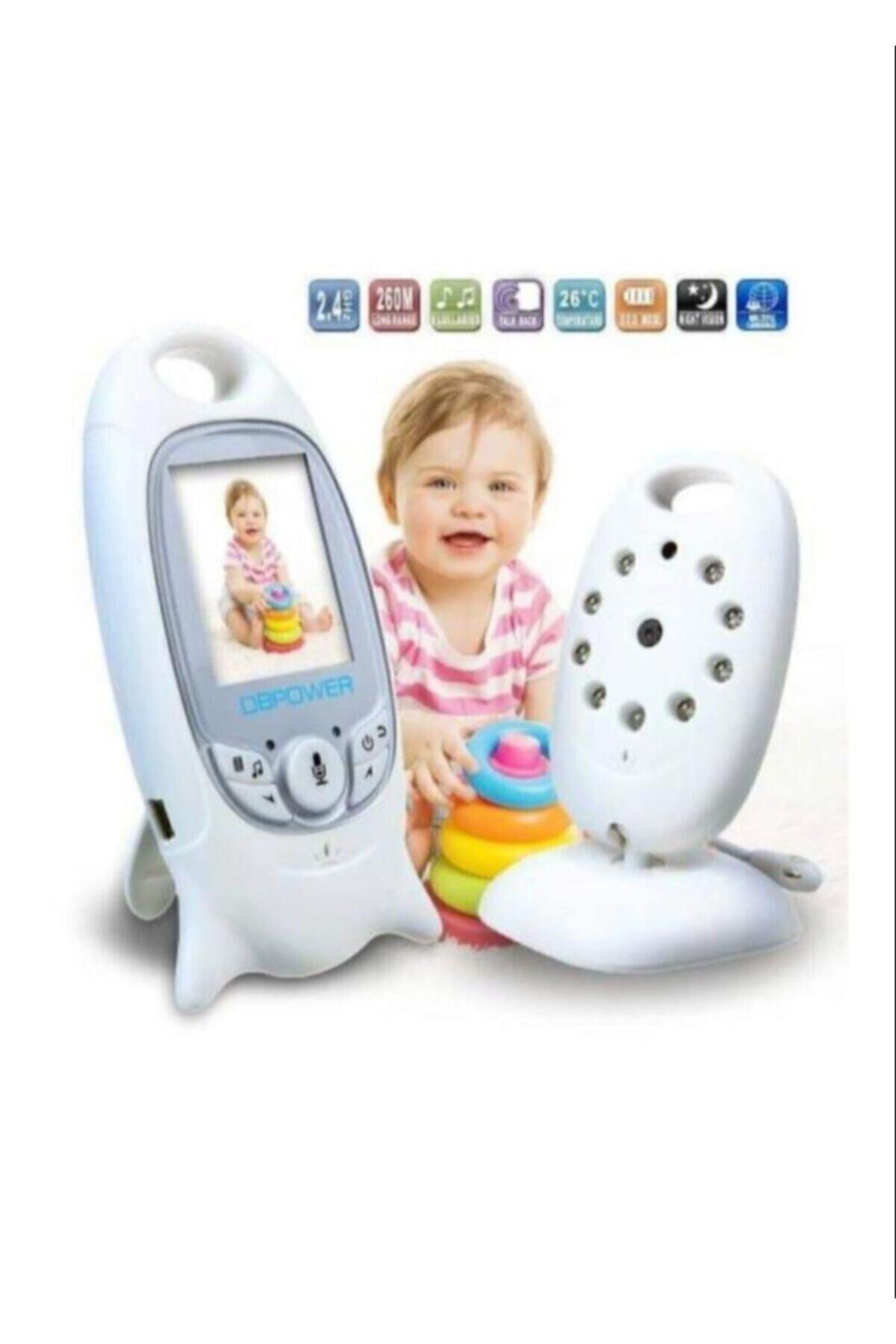 Yussraw Bebek Kamerası Gece Görüşlü Monitör Wifili Kamera Angeleye Ks-601 Bebek Izleme Kameraassı 2