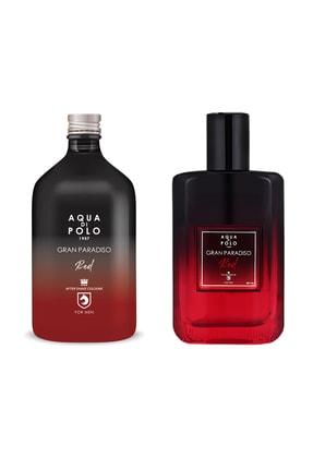 Aqua Di Polo 1987 Red Edp Parfüm Ve Tıraş Kolonyası 200 ml Stcc005501 2'li Hediye Seti