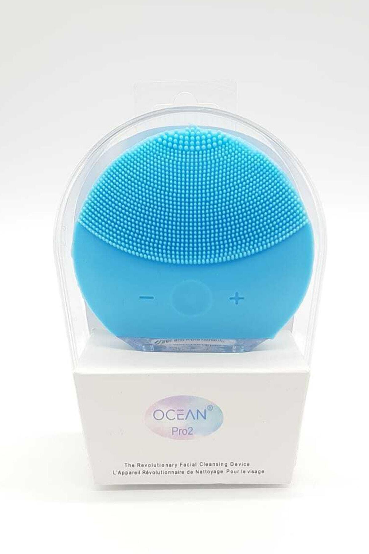 Ocean Mavi  Şarj Edilebilir Yüz Temizleme Cihazı 1