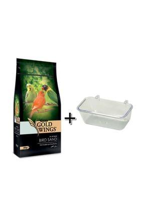 Gold Wings Premium Kuş Kumu 350gr+kumluk
