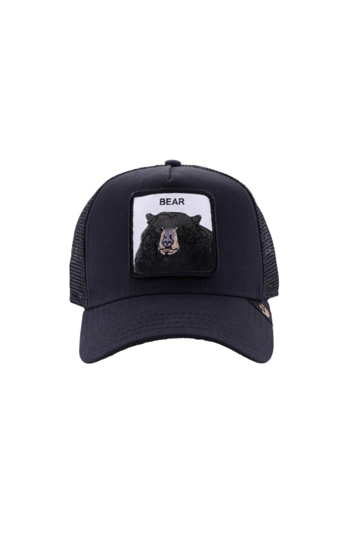 Goorin Bros Unisex Siyah Black Bear Şapka 1