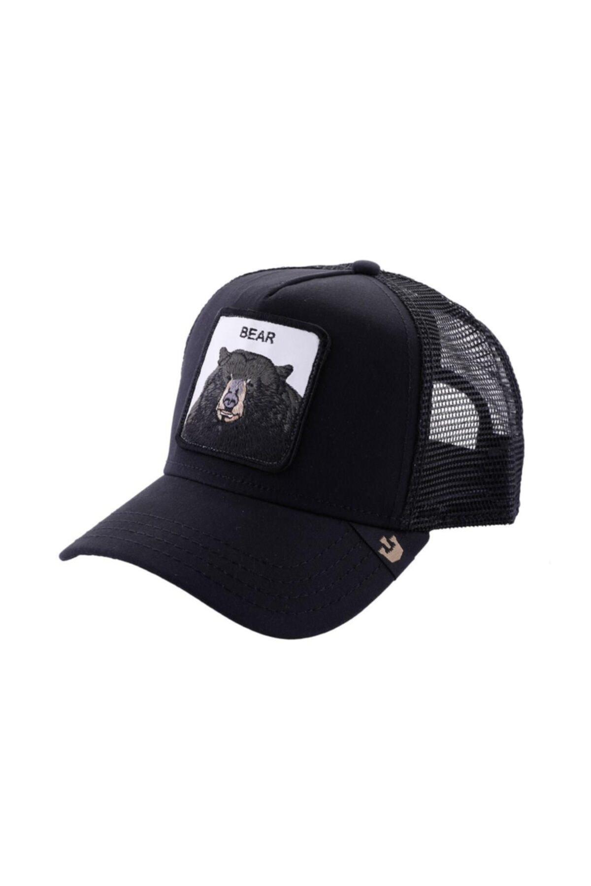 Goorin Bros Unisex Siyah Black Bear Şapka 2