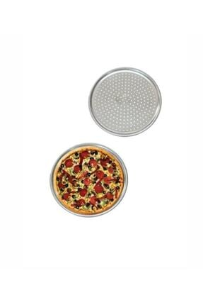 TİLLOEVDUNYASİ Paslanmaz Pizza Lahmacun Tepsisi 28 Cm