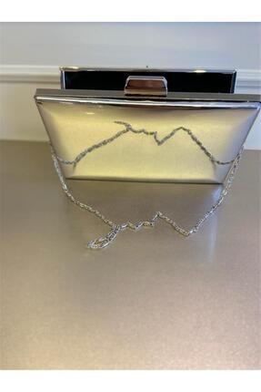 OKATLAR AYAKKABI Kadın Gümüş Portföy Çanta