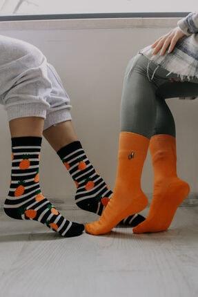 ADEL ÇORAP 2'li Figür Desenli Çorap