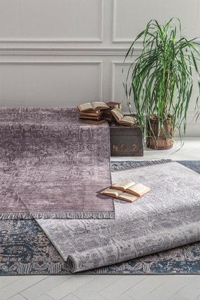Enza Home Mabel Modern Özel Tasarım Dokuma Halı - Gri 160x230