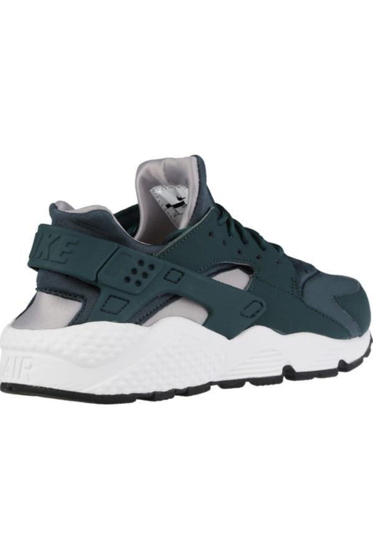 Nike Kadın Yeşil Air Huarache Run Spor Ayakkabı 2