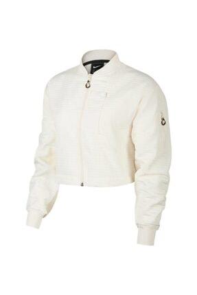 Nike Kadın Beyaz Bomber Ceket Bv4741-110