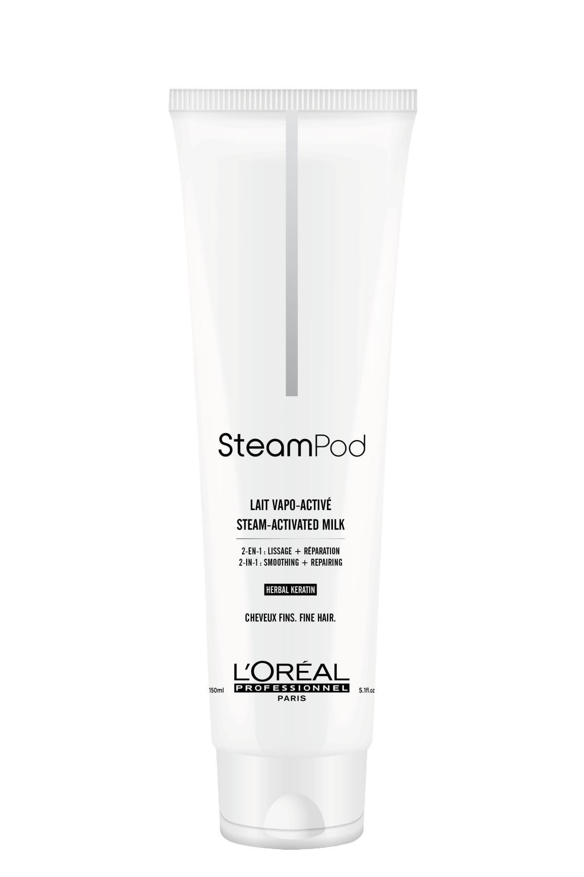 L'oreal Professionnel Steampod İnce Saçlar için Keratin Süt 150 ml 3474630692855 1