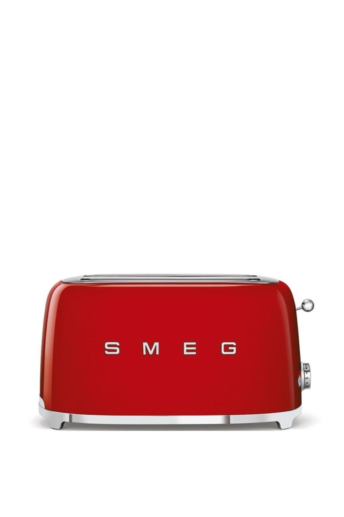 SMEG Tsf02rdeu Retro Kırmızı 2x4 Slot Ekmek Kızartma Makinesi 1