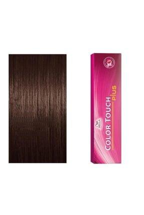 Wella Color Touch Plus Boya 55/03 Yoğun Açık Kahve Doğal Altın