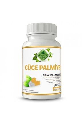 Gökçek Cüce Palmiye Kapsül 60 Bitkisel Kapsül (1000 Mg)