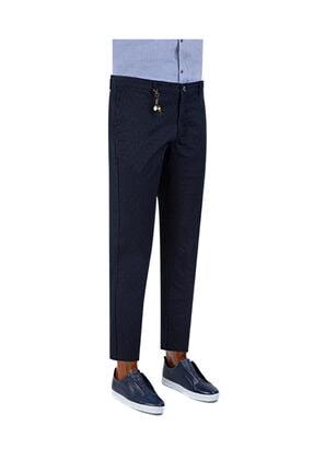 D'S Damat Twn Slim Fit Lacivert Chino Pantolon