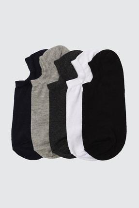 TRENDYOL MAN Çok Renkli 5'li Paket Suba Spor Çorap TMNSS20CO0022