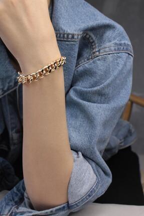 New Obsessions Kadın Altın Zincir Bileklik