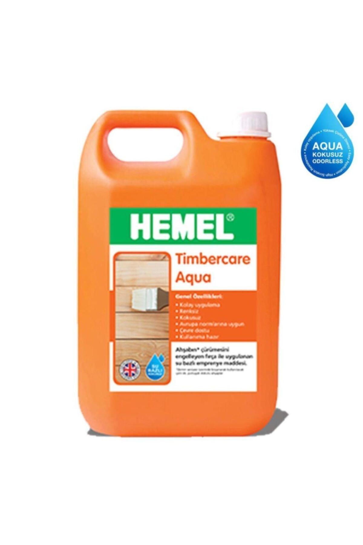 Hemel Timbercare Aqua Emprenye 5 Litre Şeffaf 1
