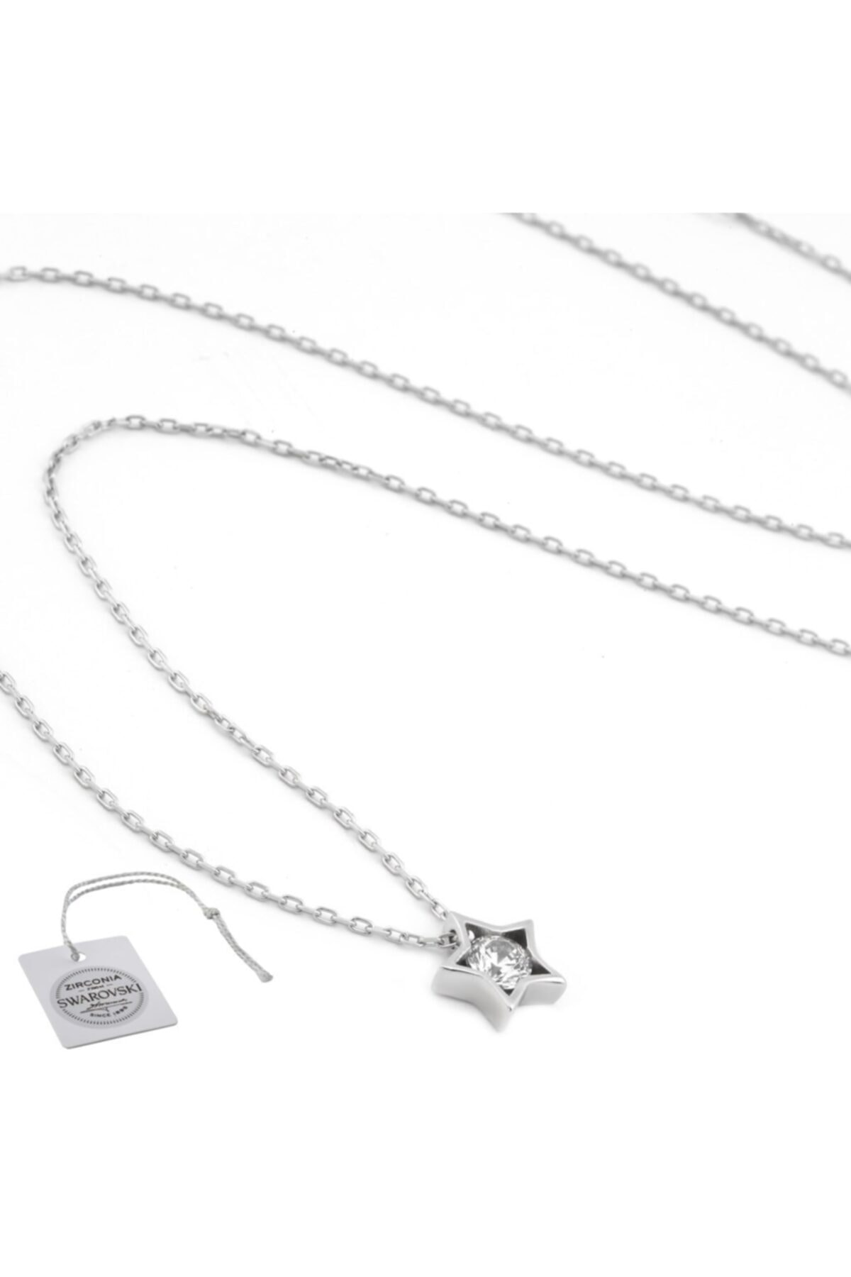 Swarovski Türker Jewelry Swr0013 Zirkonia Taşlı Bayan Kolye 2