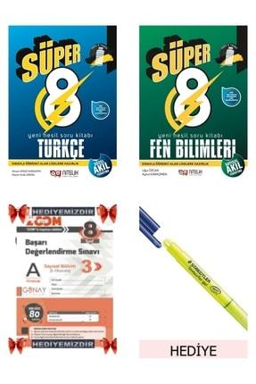 Nitelik Yayınları 8.sınıf Lgs Süper 8 Türkçe+ Fen Bilimleri Soru Bankası (hediye Deneme) Set