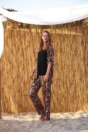 Penyemood 8723 Üçlü Pijama Takım
