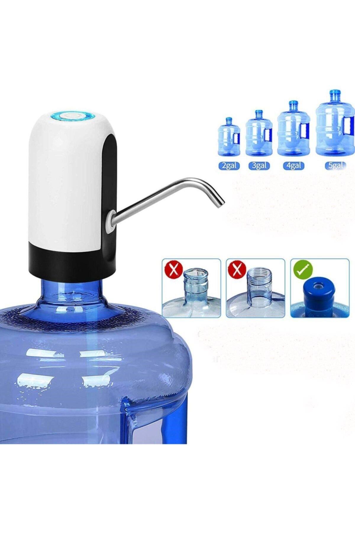 Buffer Usb Şarj Edilebilir Otomatik Damacana Su Pompası 1