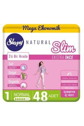 Sleepy Natural Slim Ekstra Ince Normal(48 Ped)