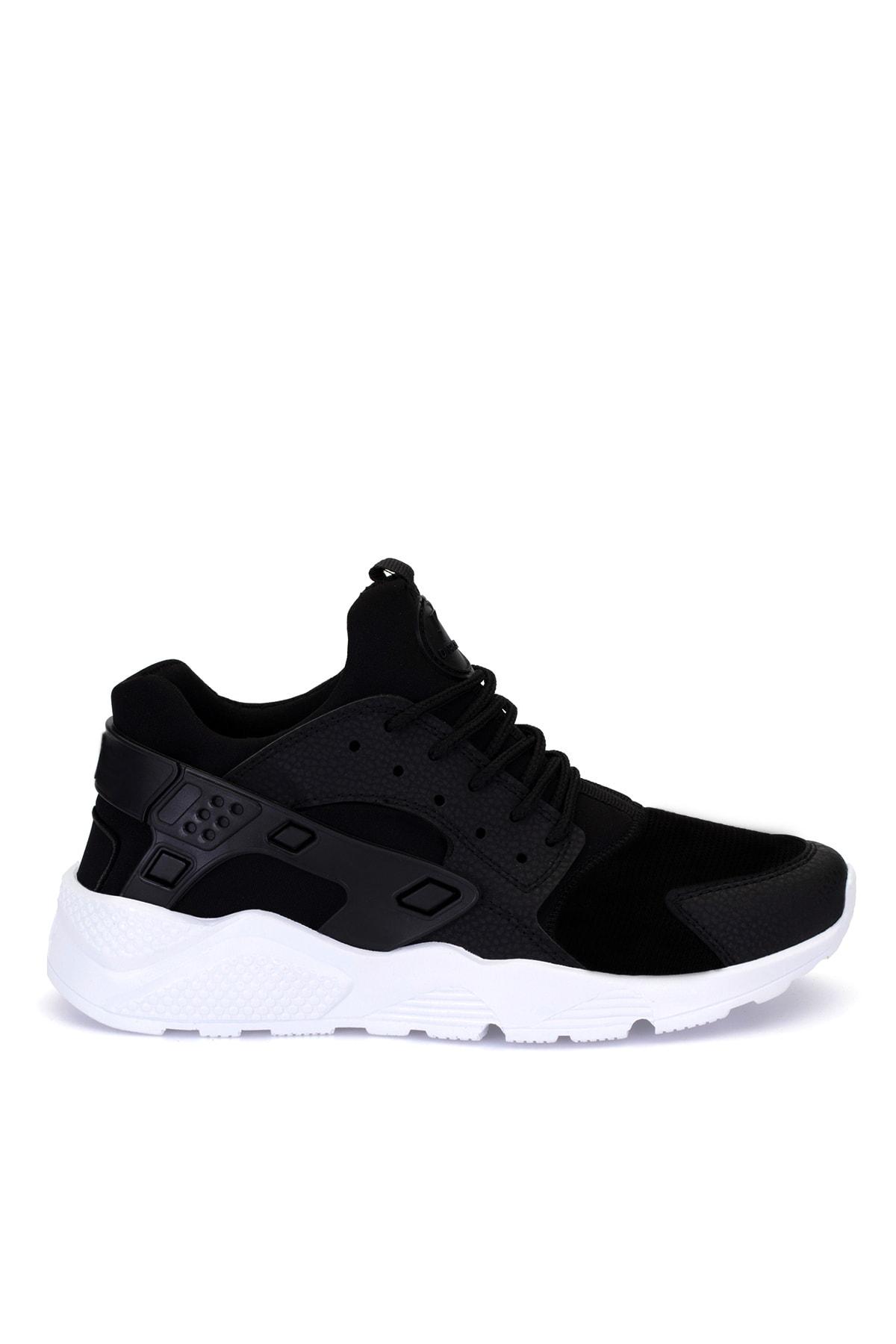 DARK SEER Unisex Siyah Bağcıklı Sneaker HR1.DS 2