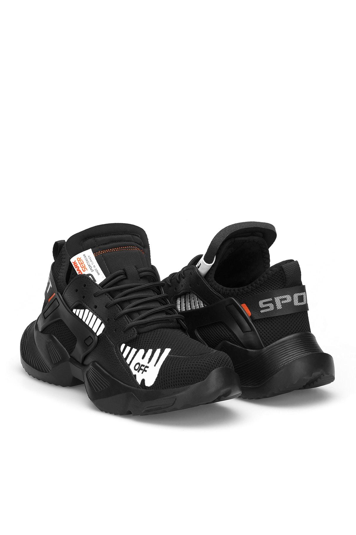 DARK SEER Siyah Unisex Sneaker 2