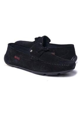 Pierre Cardin Erkek Siyah Hakiki Süet Deri Loafer Günlük Ayakkabı