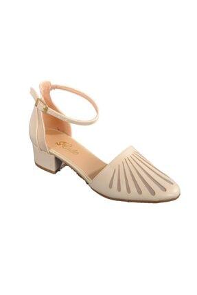 Maje 6033 Ten Kadın Topuklu Ayakkabı