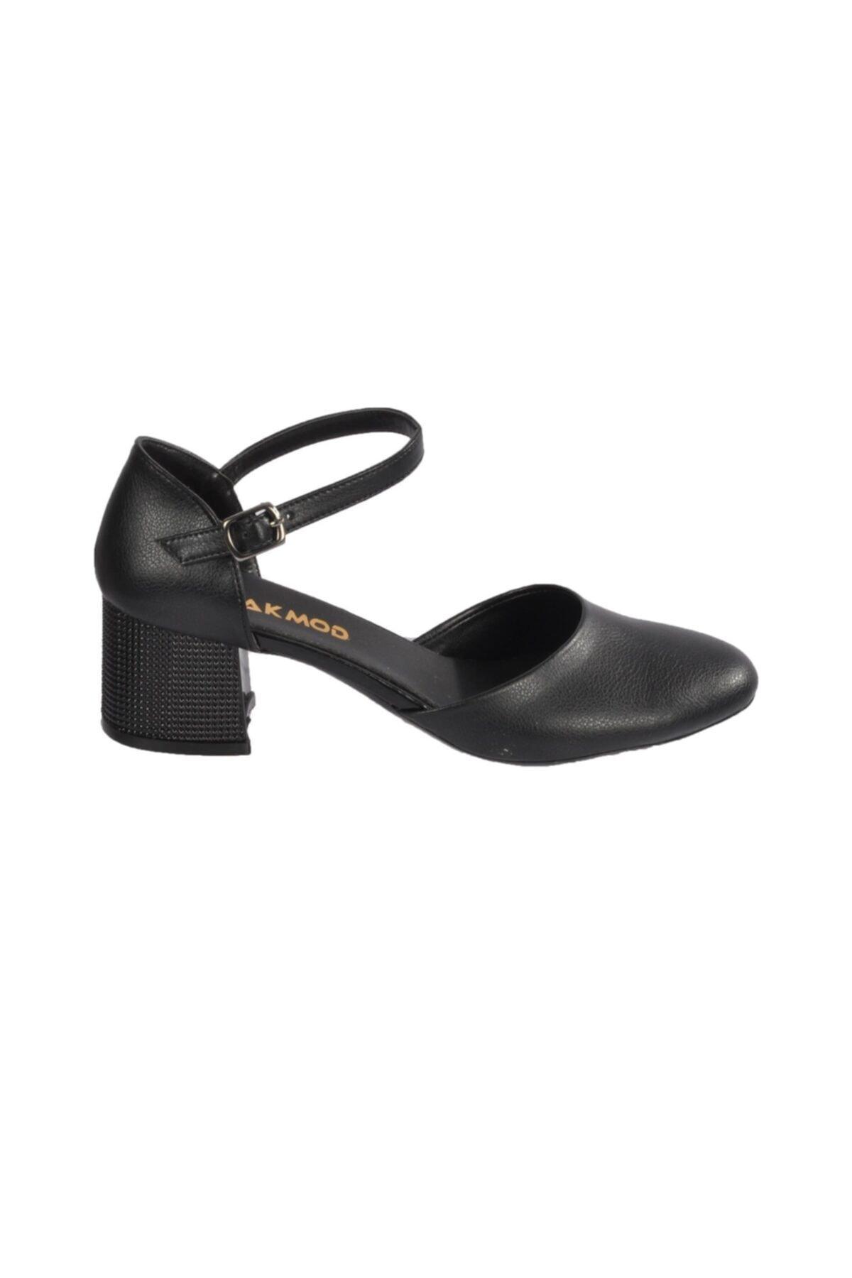 Maje 6031 Siyah Kadın Topuklu Ayakkabı 2