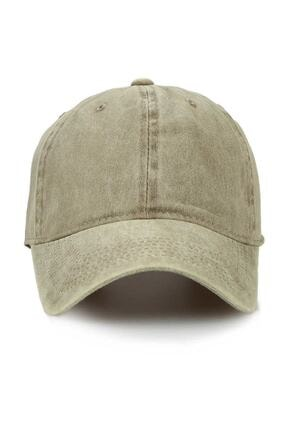 Orçun Özkarlıklı Unisex Haki Kep  Düz Şapka