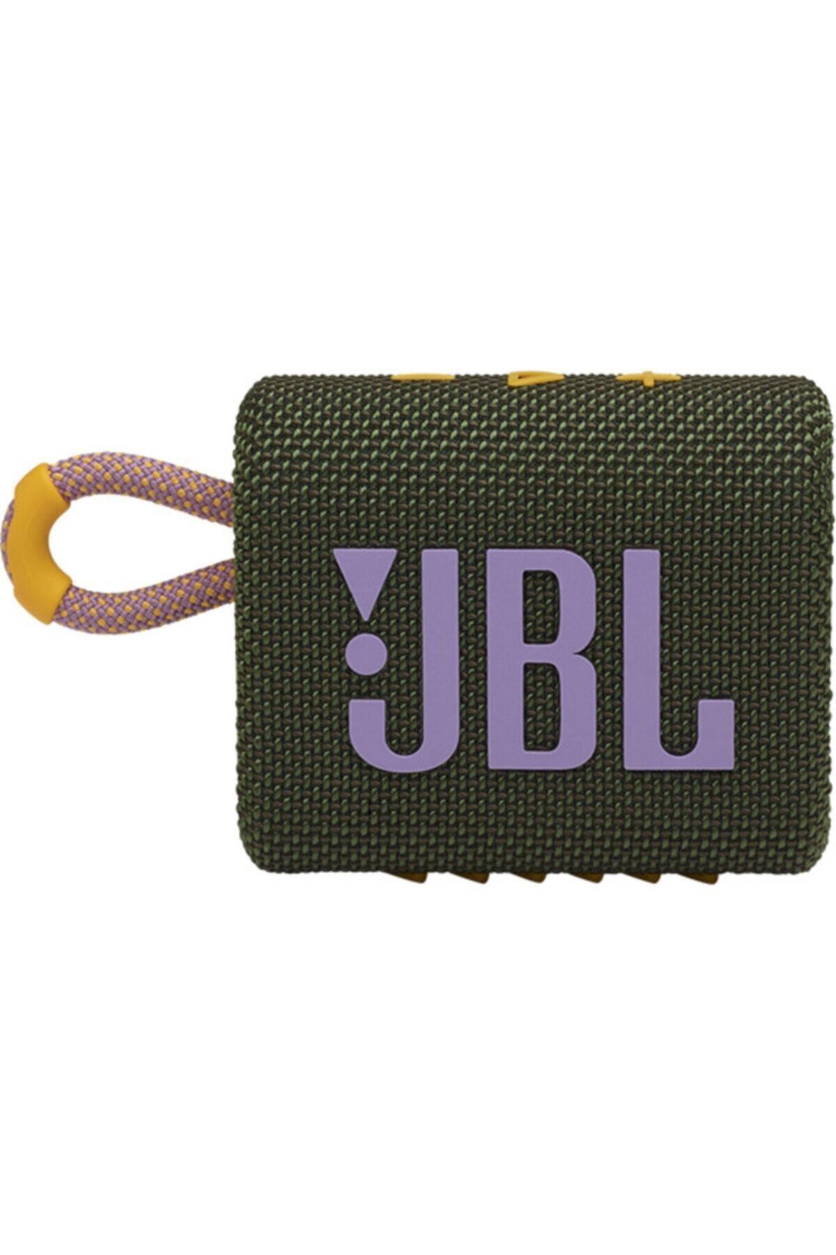 JBL Yeşil Go 3 Taşınabilir Bluetooth Hoparlör 2