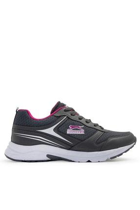 Slazenger ZETEL Sneaker Kadın Ayakkabı K.Gri SA11RK006
